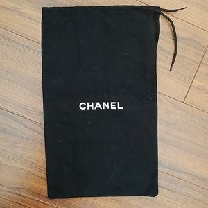 Chanel Black Dust Cover Bag